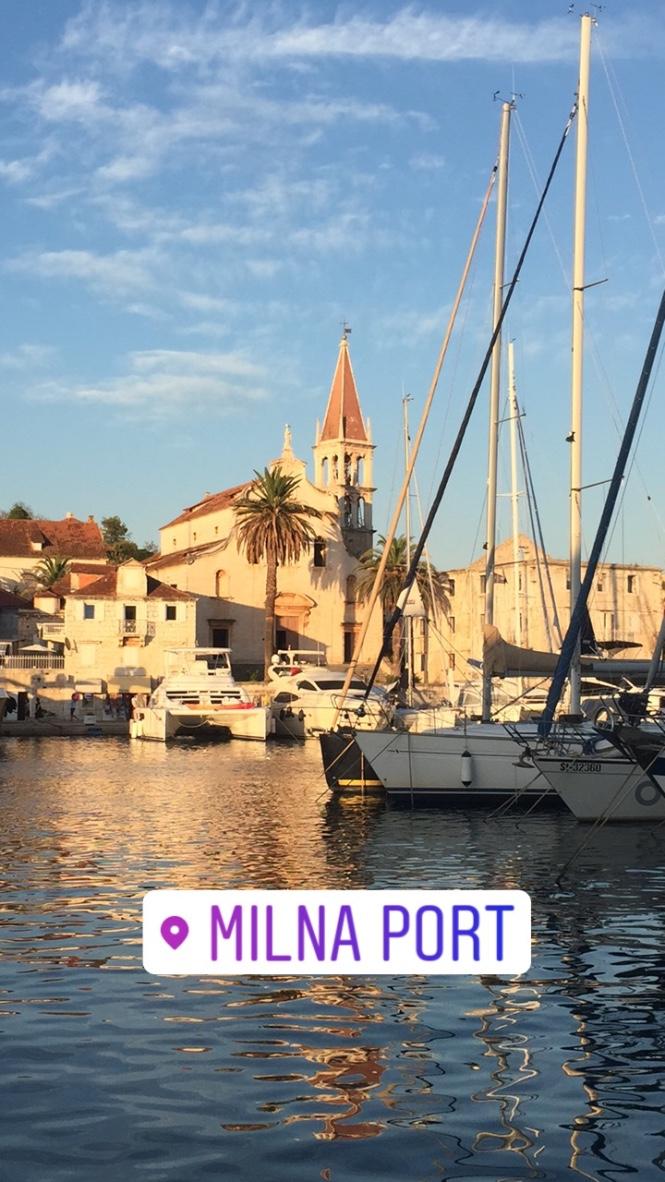 milna port