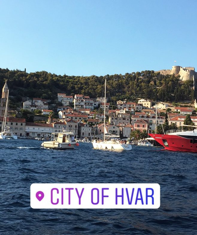 hvar city port