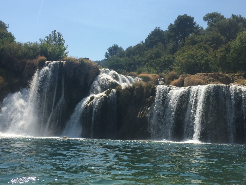 krka waterfalls croatia