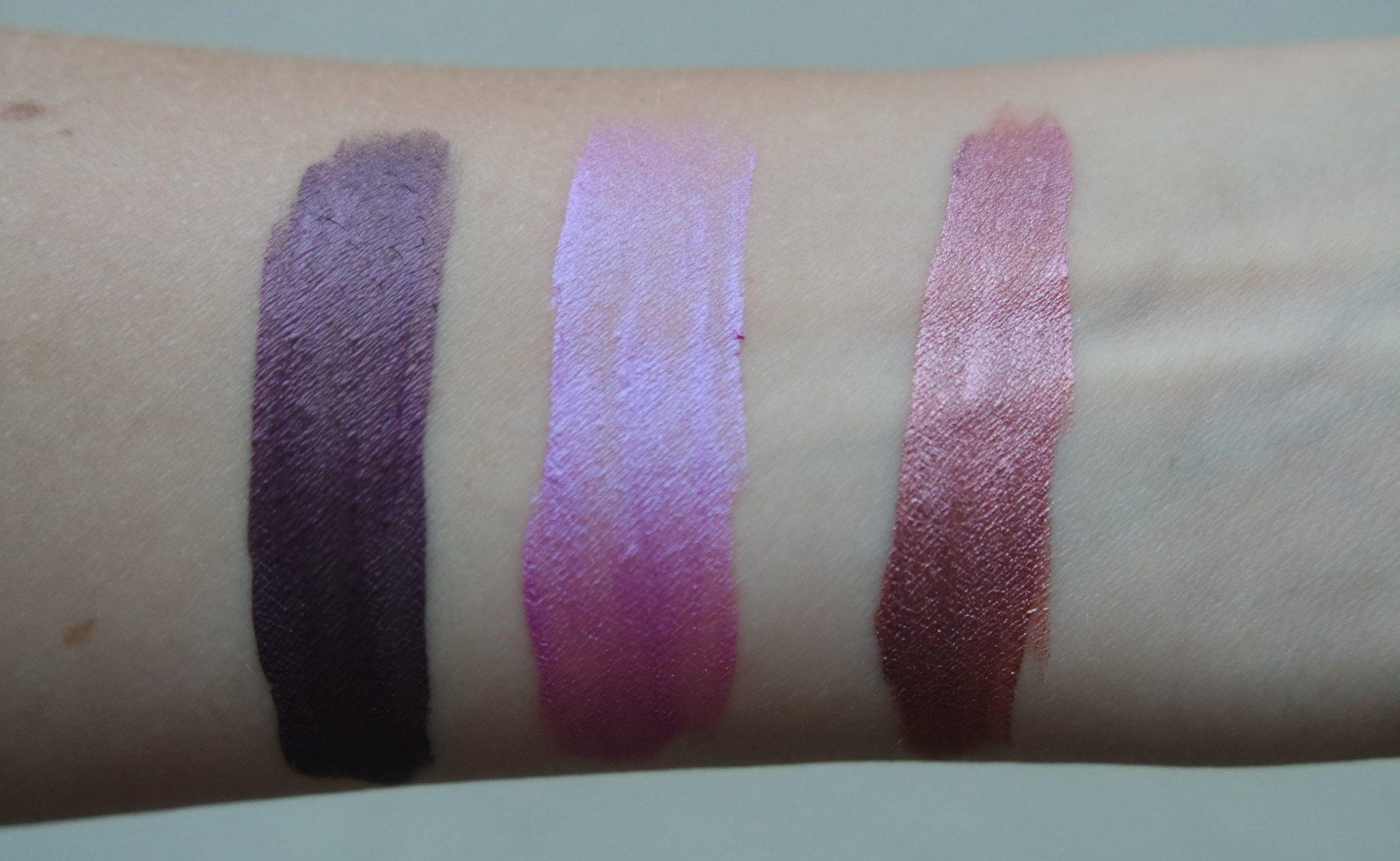 ofra liquid lipstick swatches monaco wonderland napa valley