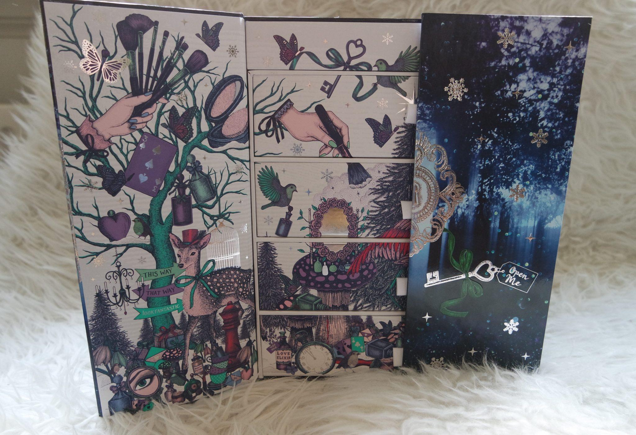 lookfantastic advent kalender 2017 review unboxing