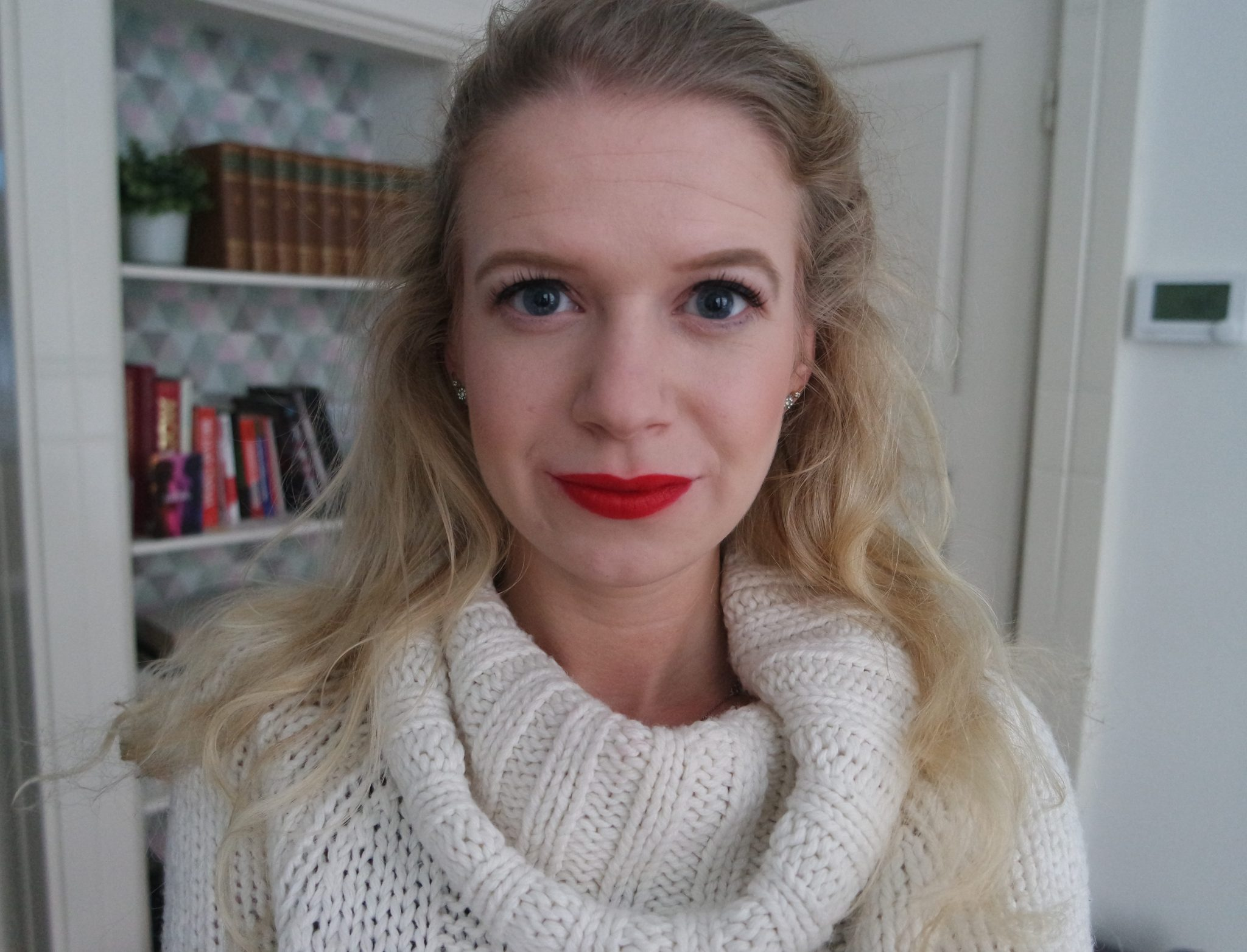 mac lipstick snowball ruby woo swatches review