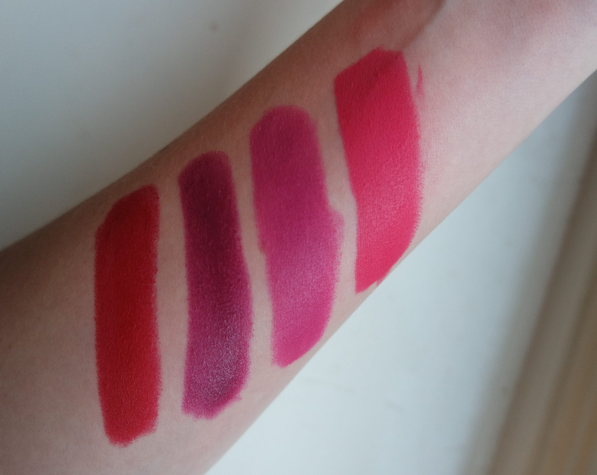 mac lipstick snowball kit review swatches ruby woo rebel out of fab good kisser
