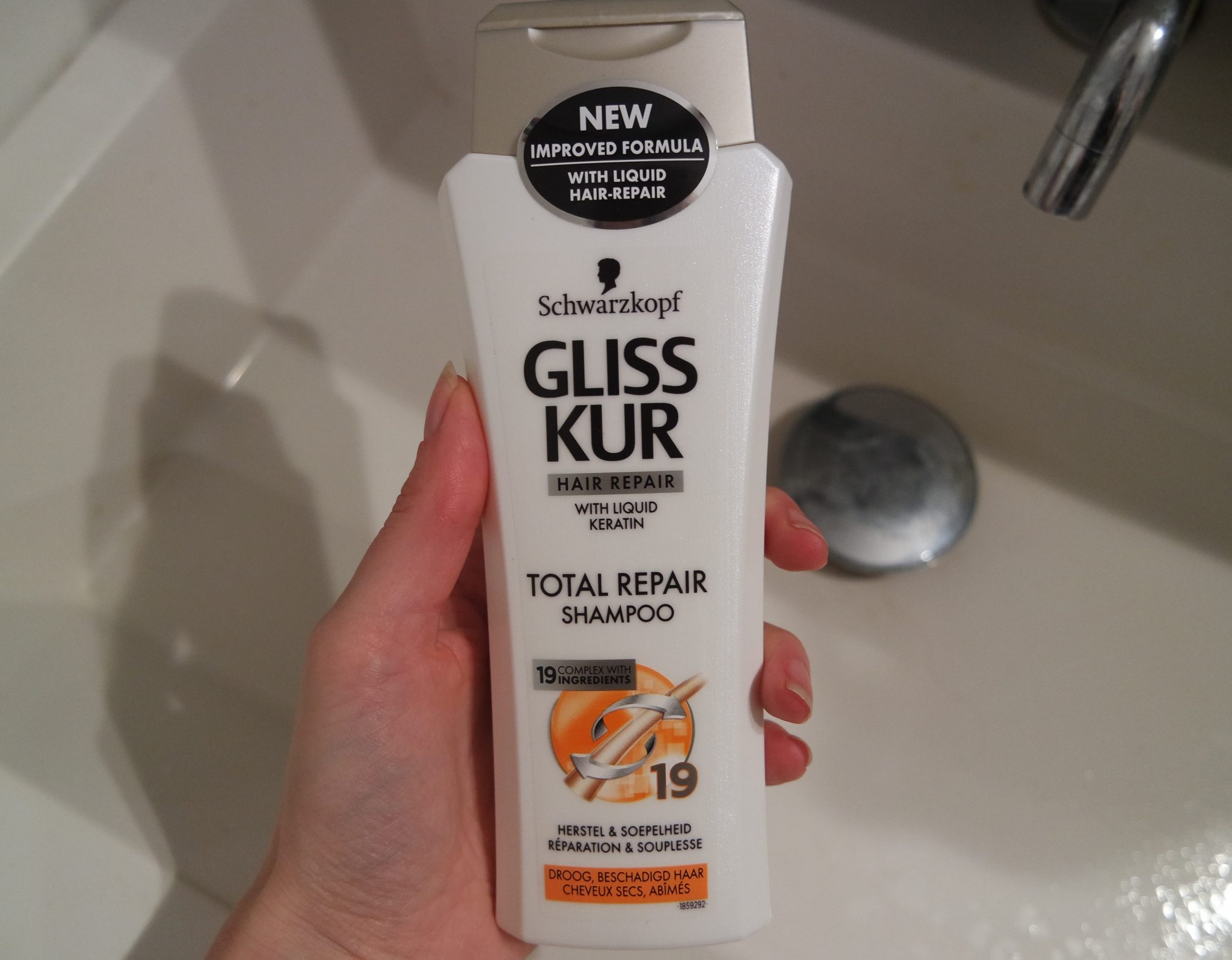 gliss kur total repair shampoo review