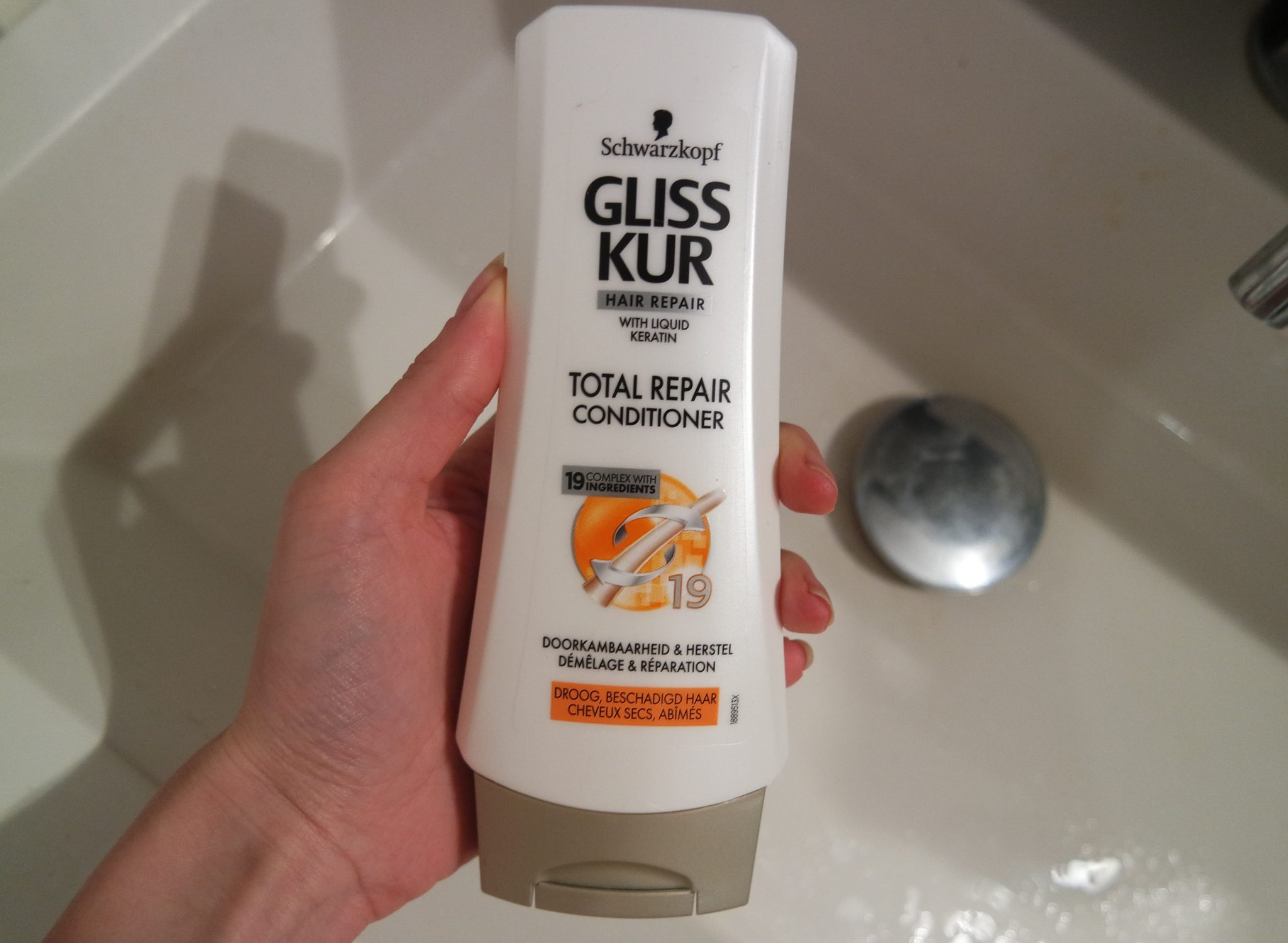 gliss kur conditioner total repair