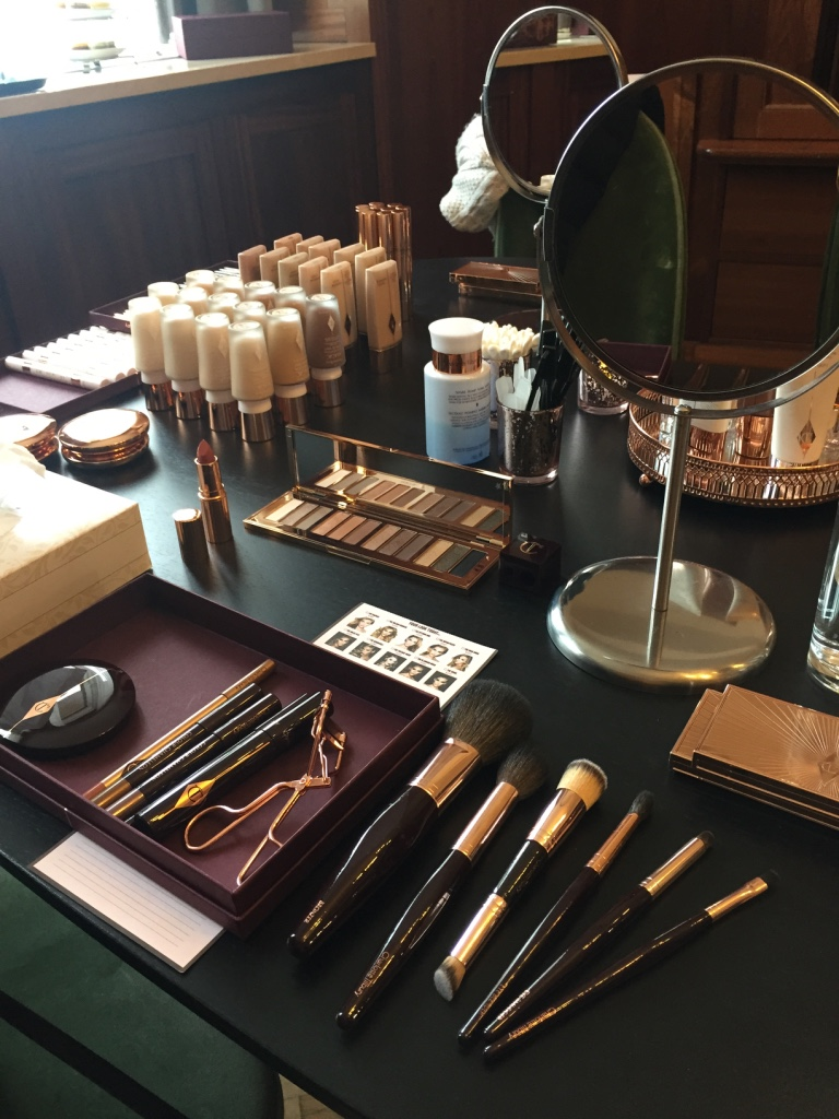 charlotte tilbury make up workshop
