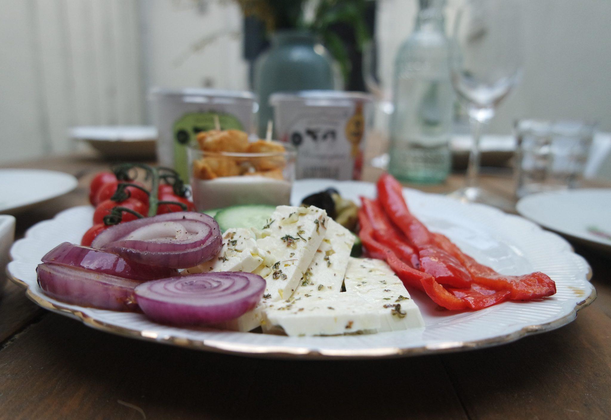 griekse salade yoghurtdressing den eelder