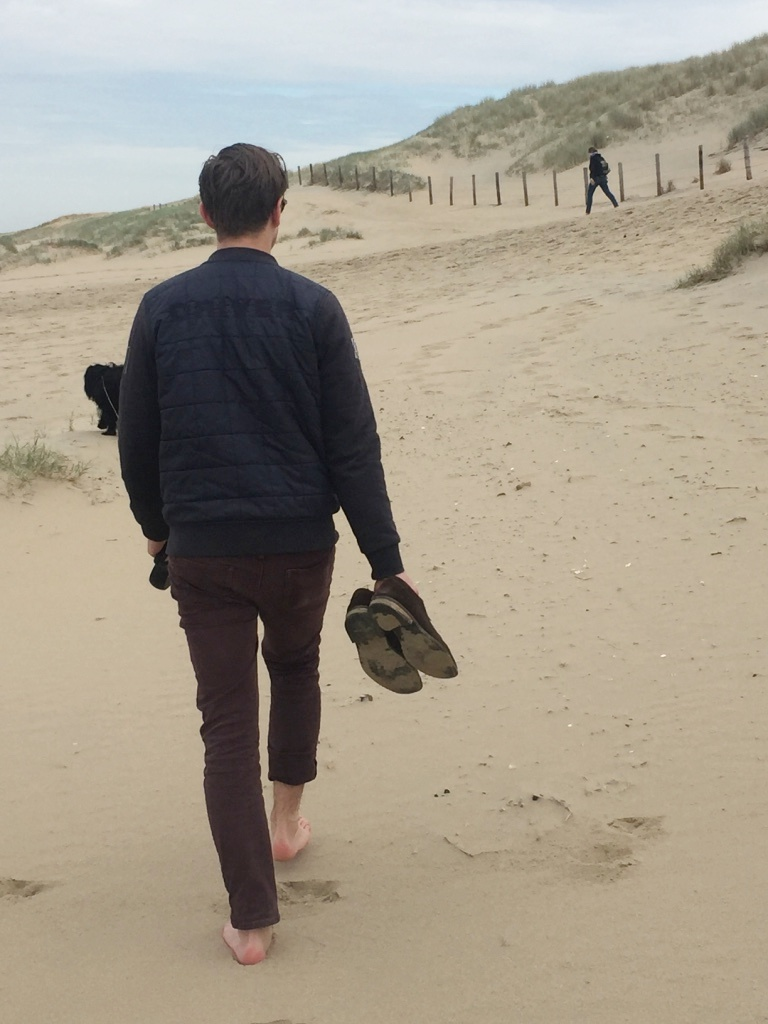 strand katwijk hond
