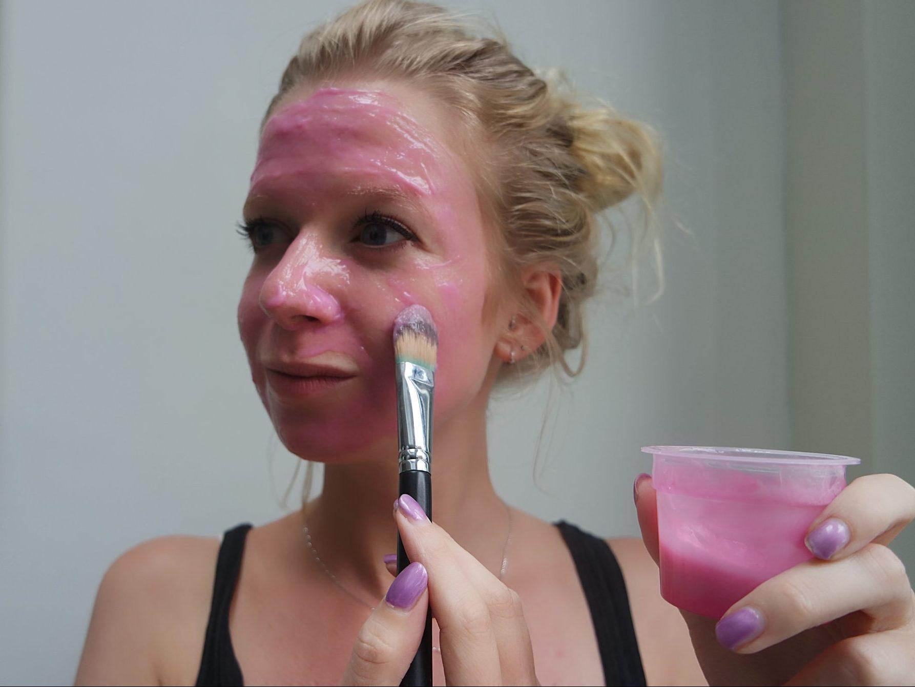 rituals rubber masker aanbrengen