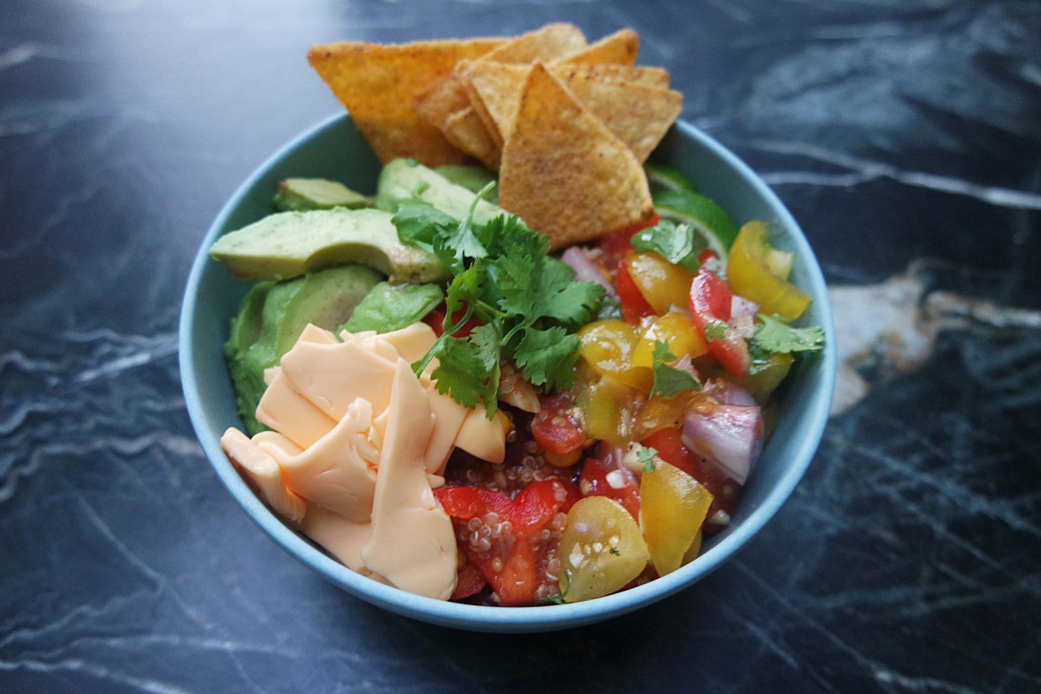 burrito bowl vegetarisch