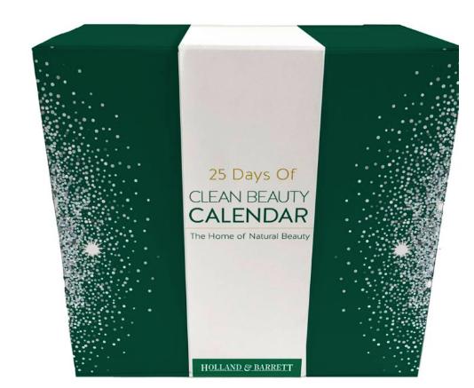 holland barrett adventkalender 2018