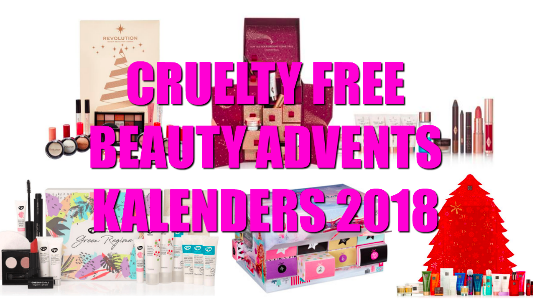 cruelty free beauty advents kalender 2018