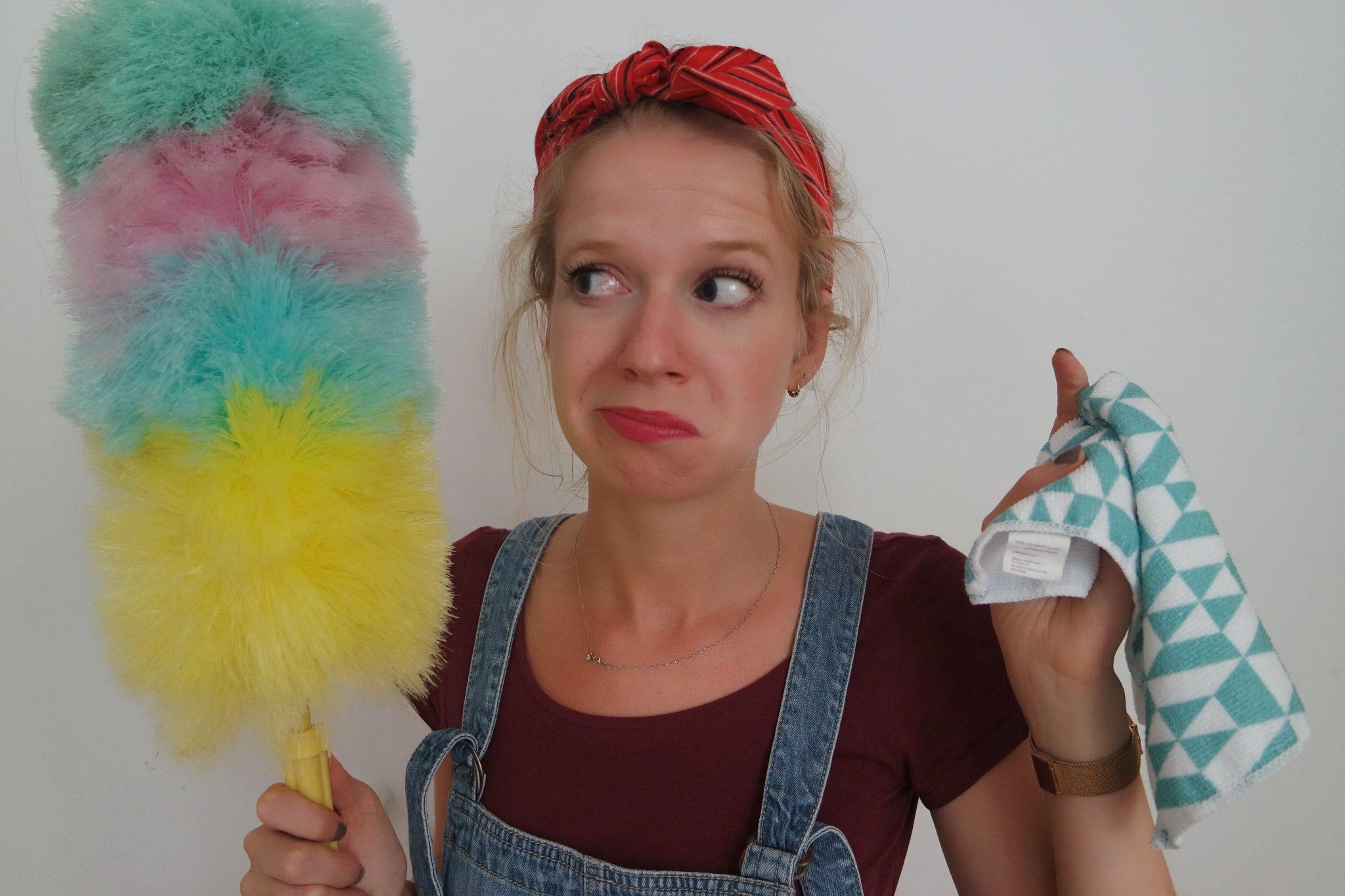 schoonmaaktips opruimen huis schoon